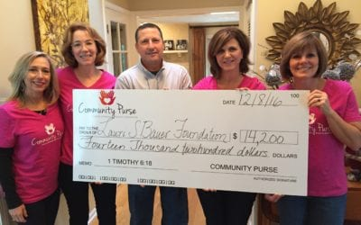 Community Purse donates $14,200 to LSB Foundation